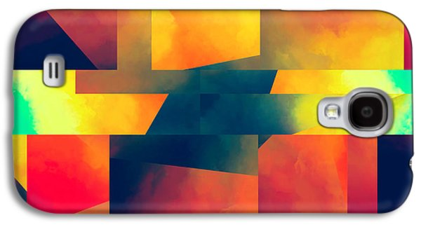 Reality Galaxy S4 Cases - Abstract Movement Galaxy S4 Case by LC Bailey