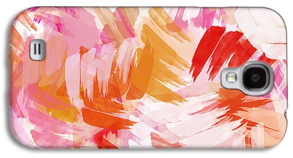 Abstract Digital Paintings Galaxy S4 Cases - Abstract Paint Pattern Galaxy S4 Case by Christina Rollo