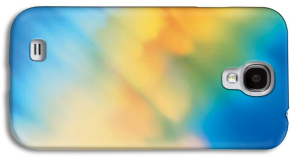 Colorful Abstract Galaxy S4 Cases - Abstract Galaxy S4 Case by Panoramic Images
