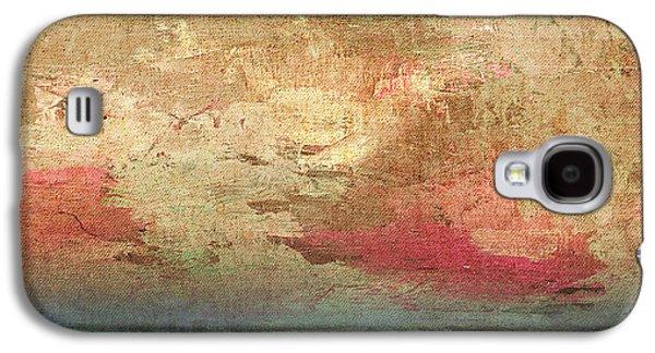 Ceramic Mixed Media Galaxy S4 Cases - Abstract Print 3 Galaxy S4 Case by Filippo B