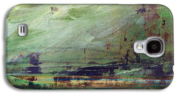 Ceramic Mixed Media Galaxy S4 Cases - Abstract Print 4 Galaxy S4 Case by Filippo B
