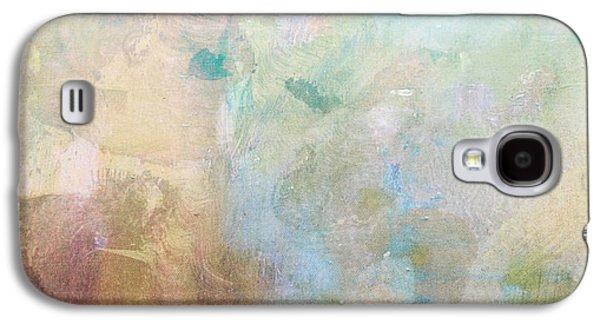 Ceramic Mixed Media Galaxy S4 Cases - Abstract Print 6 Galaxy S4 Case by Filippo B