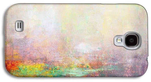 Ceramic Mixed Media Galaxy S4 Cases - Abstract Print 8 Galaxy S4 Case by Filippo B