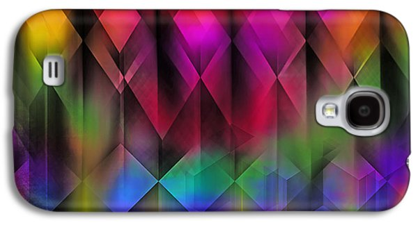 Dreamscape Galaxy S4 Cases - Abstract Rainbow Galaxy S4 Case by Billie Jo Ellis