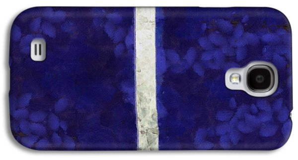 Atonement Galaxy S4 Cases - Abstract Rectangles IV Galaxy S4 Case by Edward Fielding