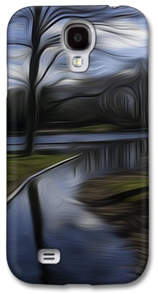 Digital Galaxy S4 Cases - Abstract Reflection #7 Galaxy S4 Case by H William Lewis