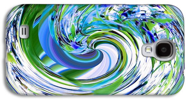 Recently Sold -  - Nature Abstracts Galaxy S4 Cases - Abstract Reflections Digital Art #3 Galaxy S4 Case by Robyn King