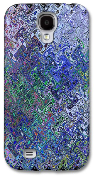 Recently Sold -  - Abstract Digital Digital Galaxy S4 Cases - Abstract Reflections Galaxy S4 Case by Robyn King