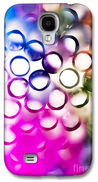Vibrant Galaxy S4 Cases - Abstract straws 2 Galaxy S4 Case by Jane Rix