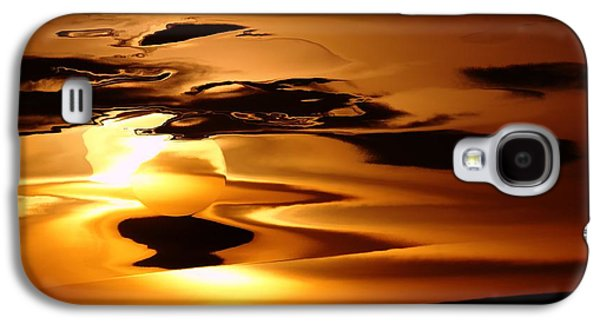 Abstract Sunrise Galaxy S4 Case by Jeff Swan
