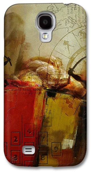 Abstract Tarot Art 014 Galaxy S4 Case by Corporate Art Task Force