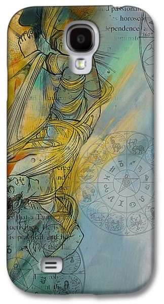 Inward Galaxy S4 Cases - Abstract Tarot Art 015 Galaxy S4 Case by Corporate Art Task Force