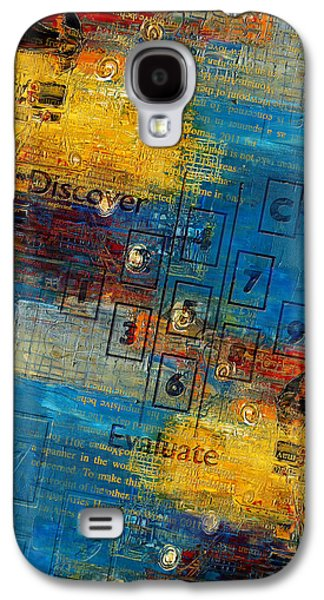 Inward Galaxy S4 Cases - Abstract Tarot Art 016 Galaxy S4 Case by Corporate Art Task Force