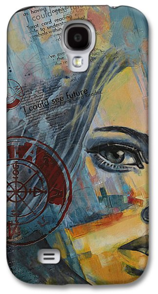 Inward Galaxy S4 Cases - Abstract Tarot Art 022a Galaxy S4 Case by Corporate Art Task Force