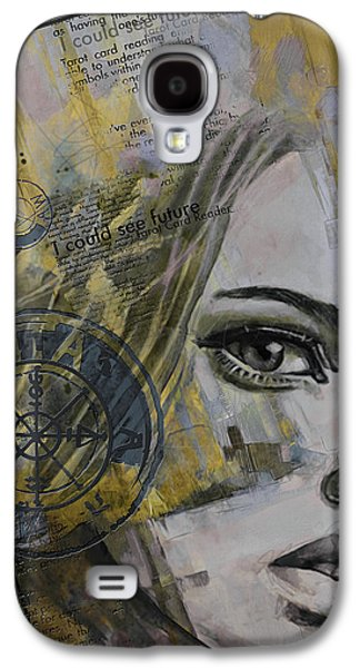Inward Galaxy S4 Cases - Abstract Tarot Art 022b Galaxy S4 Case by Corporate Art Task Force