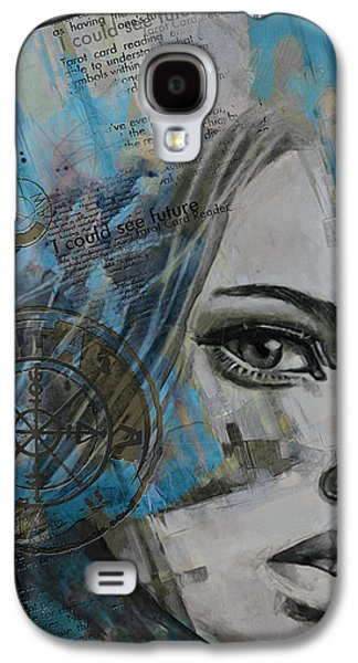 Inward Galaxy S4 Cases - Abstract Tarot Art 022c Galaxy S4 Case by Corporate Art Task Force