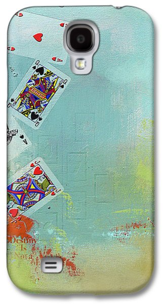 Abstract Tarot Card 009 Galaxy S4 Case by Corporate Art Task Force