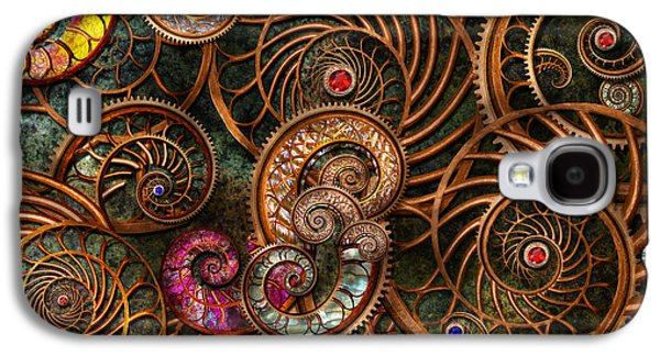 Tendrils Galaxy S4 Cases - Abstract - The wonders of Sea Galaxy S4 Case by Mike Savad
