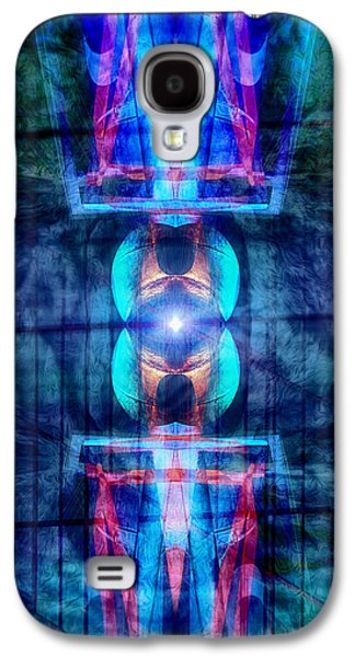 Abstract Digital Digital Art Galaxy S4 Cases - Abstract Vision Galaxy S4 Case by Wim Lanclus