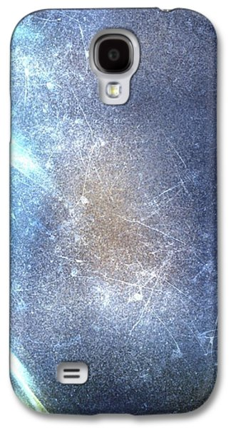 Abstract Digital Digital Art Galaxy S4 Cases - Abstract water Galaxy S4 Case by Veronica Minozzi
