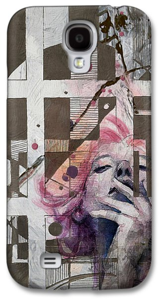Abstract Woman 001 Galaxy S4 Case by Corporate Art Task Force