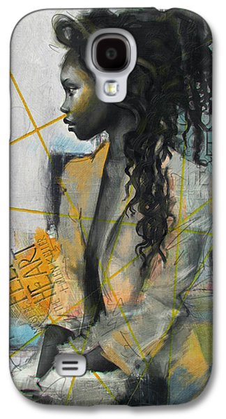 Abstract Women 004 Galaxy S4 Case by Corporate Art Task Force
