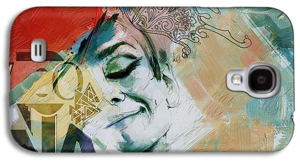 Abstract Women 008 Galaxy S4 Case by Corporate Art Task Force