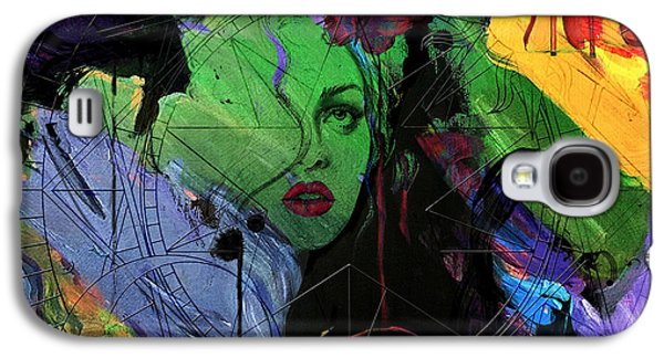Abstract Women 014 Galaxy S4 Case by Corporate Art Task Force
