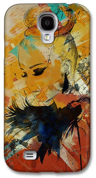 Abstract Women 010 Galaxy S4 Case by Corporate Art Task Force