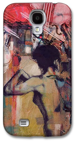 Abstract Women 017 Galaxy S4 Case by Corporate Art Task Force