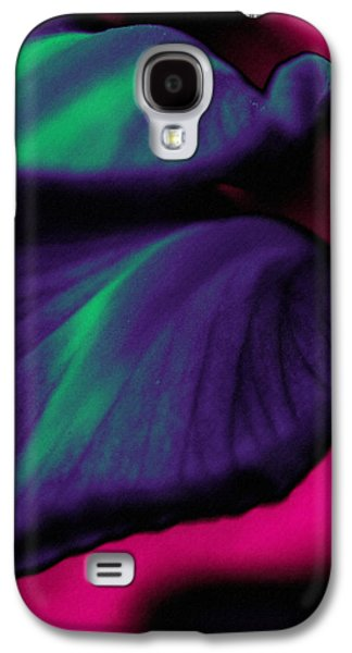 Abstract Digital Mixed Media Galaxy S4 Cases - Abstracting Natures Flow Galaxy S4 Case by Georgiana Romanovna