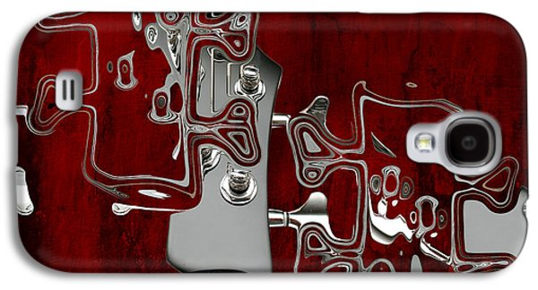 Red Abstract Digital Galaxy S4 Cases - Abstrait en Do Majeur - s02t02a Galaxy S4 Case by Variance Collections