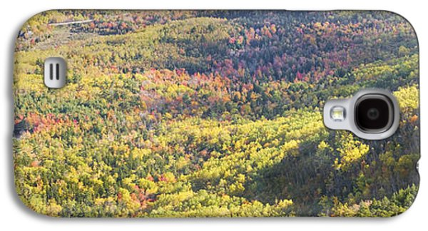 Maine Photographs Galaxy S4 Cases - Acadia National Park - Cadillac Mountain- Fall Folige- Maine Galaxy S4 Case by Keith Webber Jr