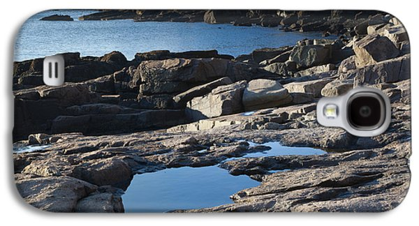 Beach Landscape Galaxy S4 Cases - Acadia National Park Galaxy S4 Case by John Shaw