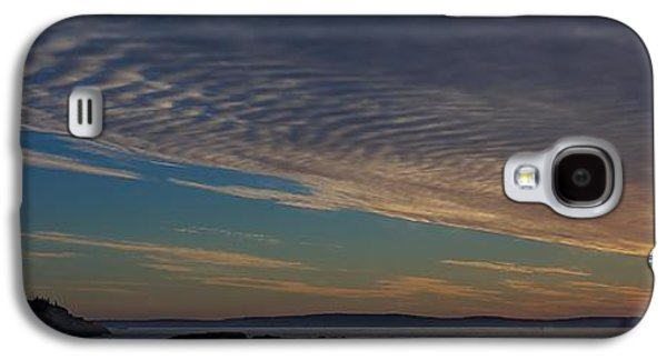 Sun Galaxy S4 Cases - Acadia Sunrise Galaxy S4 Case by Stuart Litoff