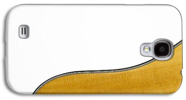 Bob Orsillo Galaxy S4 Cases - Acoustic Curve Galaxy S4 Case by Bob Orsillo