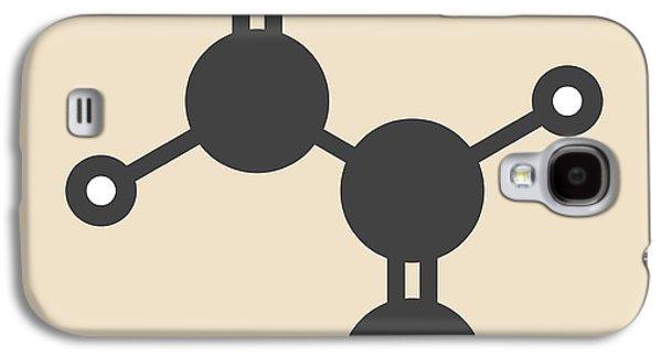 Acrolein Molecule Galaxy S4 Case by Molekuul