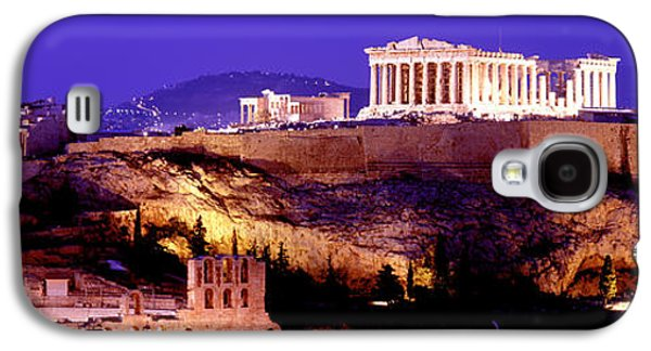 Ancient Galaxy S4 Cases - Acropolis, Athens, Greece Galaxy S4 Case by Panoramic Images