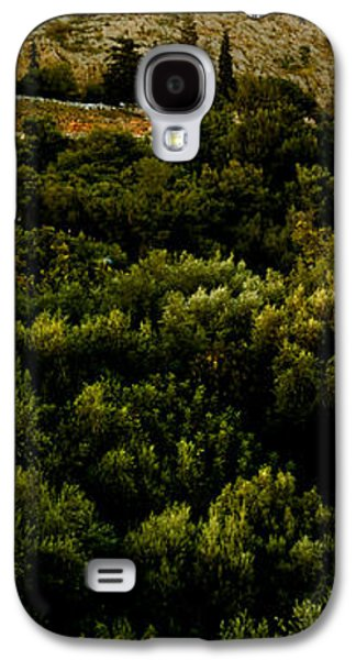 Ancient Civilization Galaxy S4 Cases - Acropolis Of Athens At Dusk, Athens Galaxy S4 Case by Panoramic Images