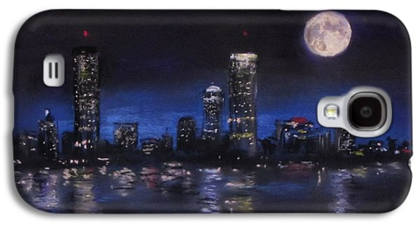 Jack Skinner Galaxy S4 Cases - Across The Charles at Night Galaxy S4 Case by Jack Skinner