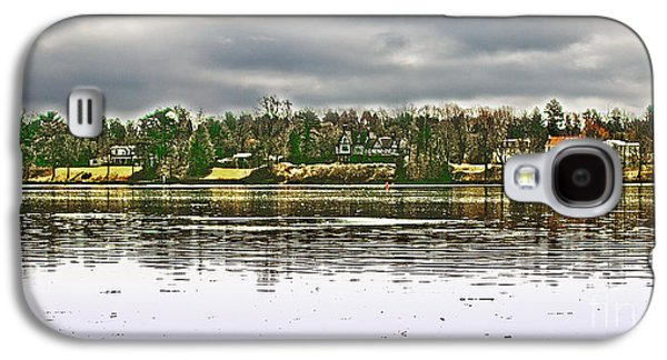 Dunk Galaxy S4 Cases - Across The Delaware River Galaxy S4 Case by Tom Gari Gallery-Three-Photography