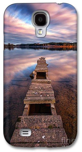 Boats On Water Galaxy S4 Cases - Across The Water Galaxy S4 Case by John Farnan