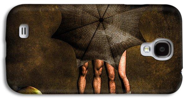Dreamscape Galaxy S4 Cases - Adam And Eve Galaxy S4 Case by Bob Orsillo