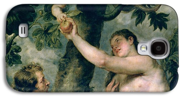 Adam And Eve Galaxy S4 Case by Rubens