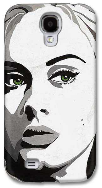 Adele Paintings Galaxy S4 Cases - Adele Galaxy S4 Case by Jesse Glenn