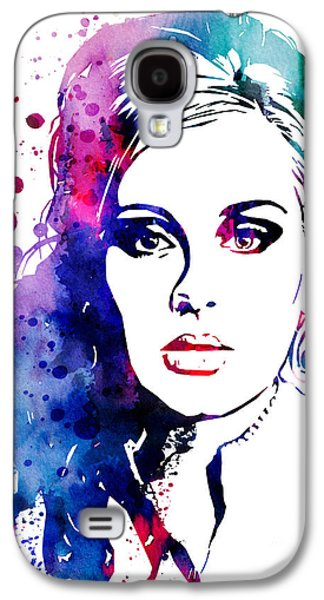 Adele Paintings Galaxy S4 Cases - Adele Galaxy S4 Case by Luke and Slavi