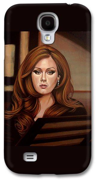Adele Galaxy S4 Case by Paul Meijering