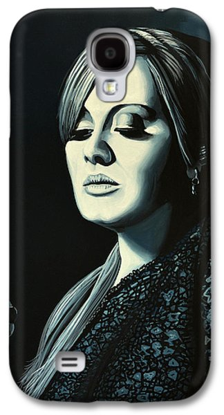 Adele Skyfall Painting Galaxy S4 Case by Paul Meijering