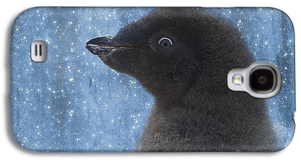 Young Birds Galaxy S4 Cases - Adelie Winter Magic... Galaxy S4 Case by Nina Stavlund