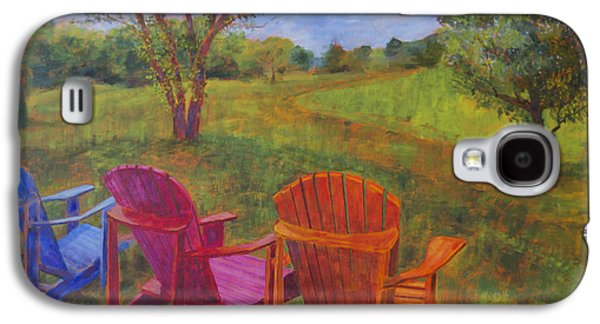 Leipers Fork Galaxy S4 Cases - Adirondack Chairs in Leipers Fork Galaxy S4 Case by Arthur Witulski